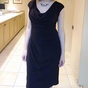Ralph Lauren Black Dress. Size 4